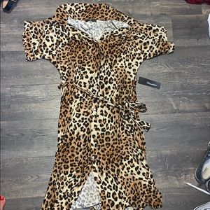 Brand New with Tags- Cheetah Dress